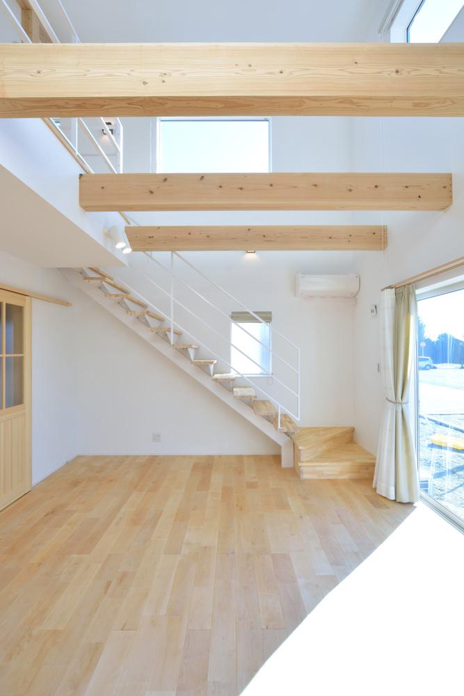 四角の白いお家、注文住宅Simple Box(シンプルボックス)03