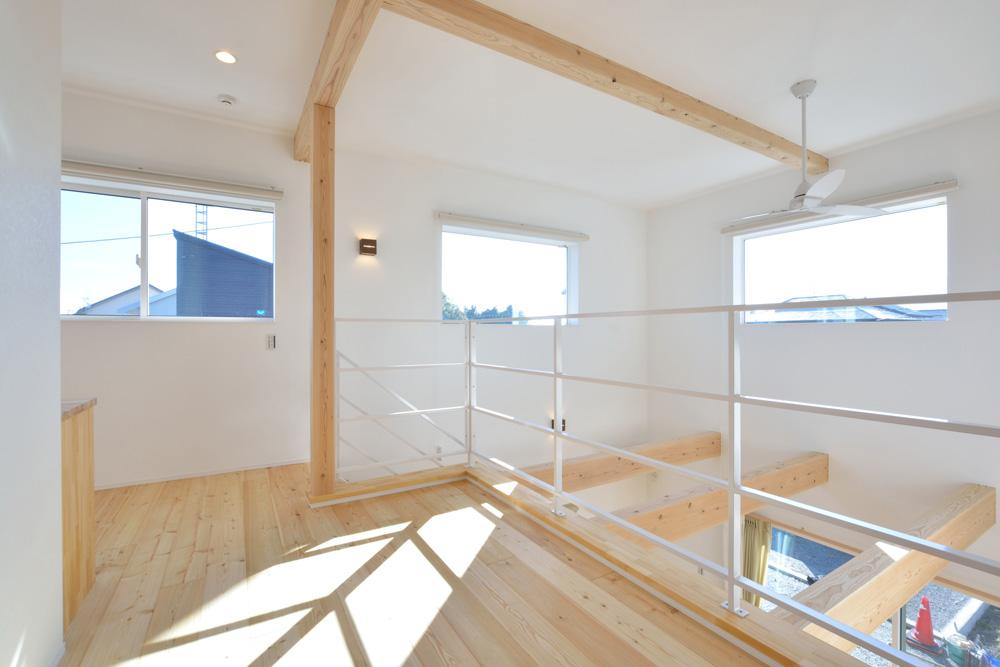四角の白いお家、注文住宅Simple Box(シンプルボックス)08