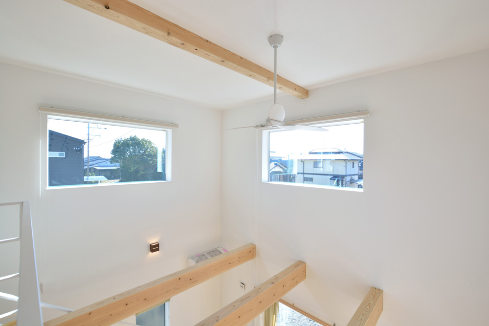 四角の白いお家、注文住宅Simple Box(シンプルボックス)12