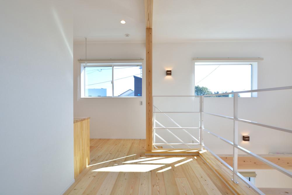 四角の白いお家、注文住宅Simple Box(シンプルボックス)09