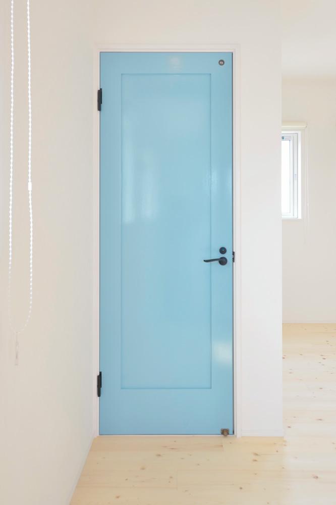 ヘリンボーン+吹き抜け、注文住宅Simple Box(シンプルボックス)13