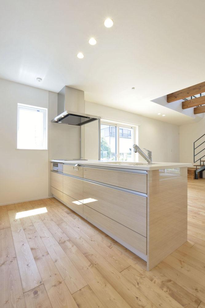 青いガルバの四角いお家、注文住宅Simple Box(シンプルボックス)10