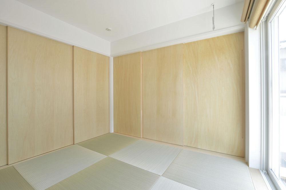 青いガルバの四角いお家、注文住宅Simple Box(シンプルボックス)08