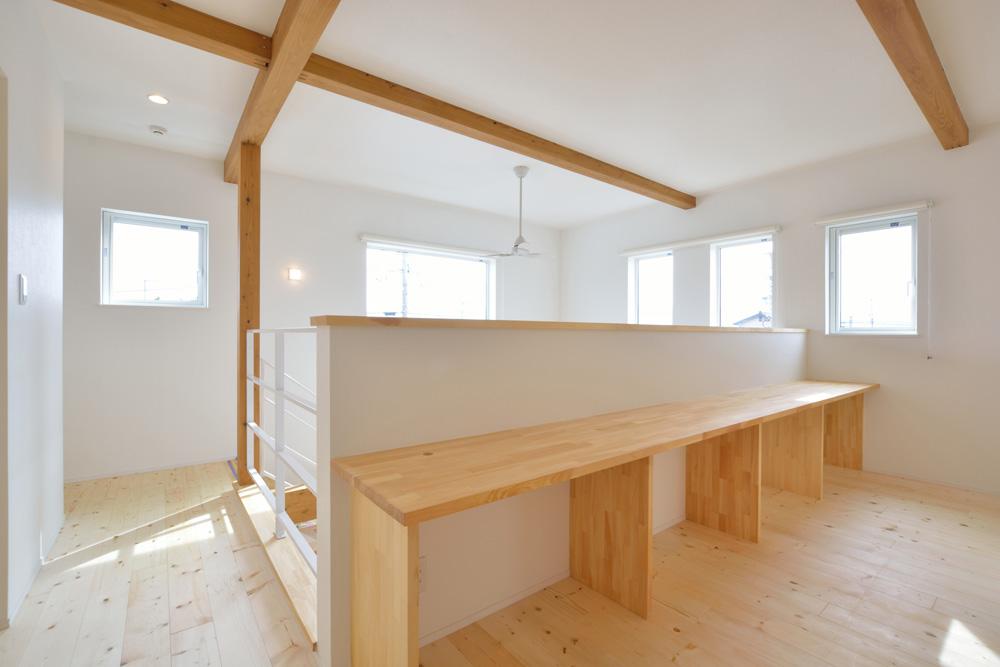 四角いシンプルなお家、注文住宅Simple Box(シンプルボックス)10