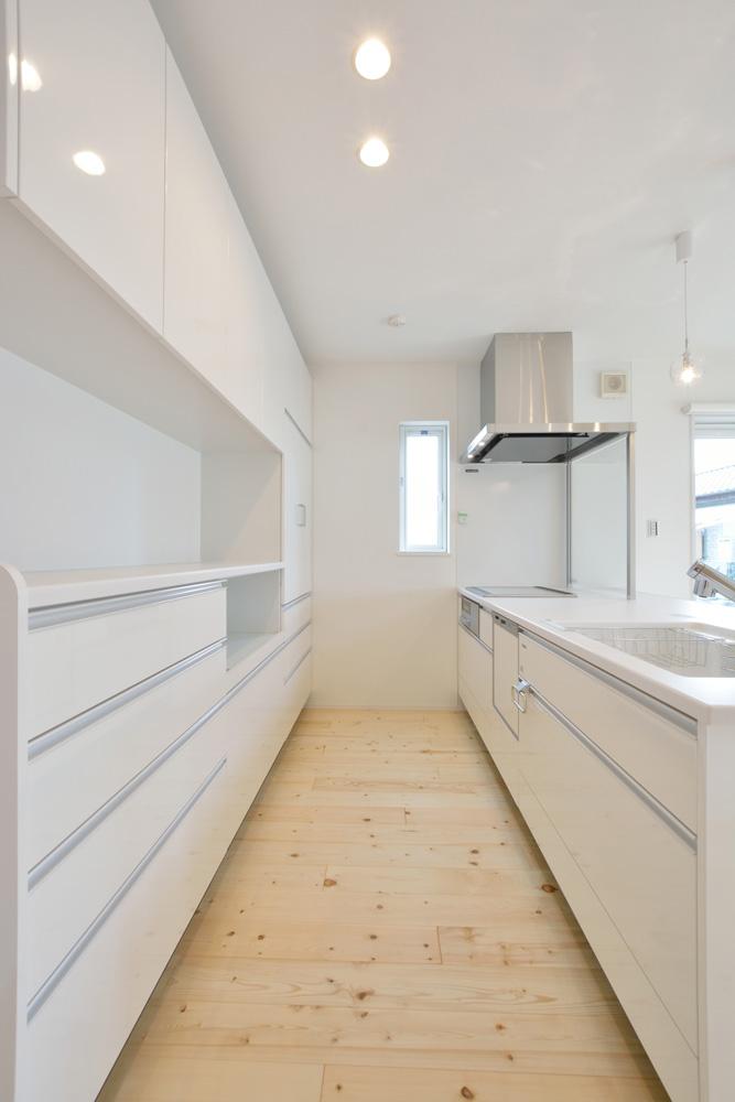 ネイビーと白のお家、注文住宅Simple Box+Box(シンプルボックス+ボックス)12