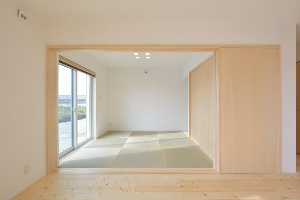 ネイビーと白のお家、注文住宅Simple Box+Box(シンプルボックス+ボックス)14