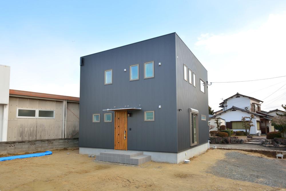 こだわりのキッチンスペースがある注文住宅Simple Box(シンプルボックス)02