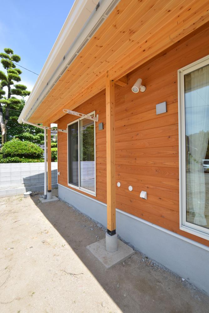 青空が似合う平屋のお家、注文住宅COVACO(コバコ)03