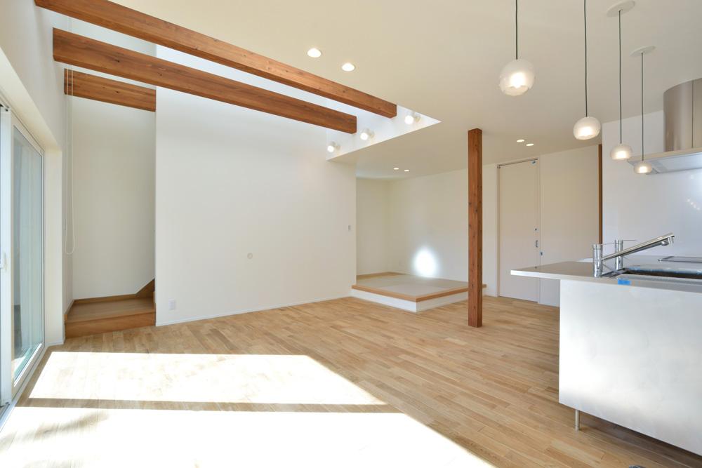 ネイビーの四角いお家、注文住宅Simple Box(シンプルボックス)06
