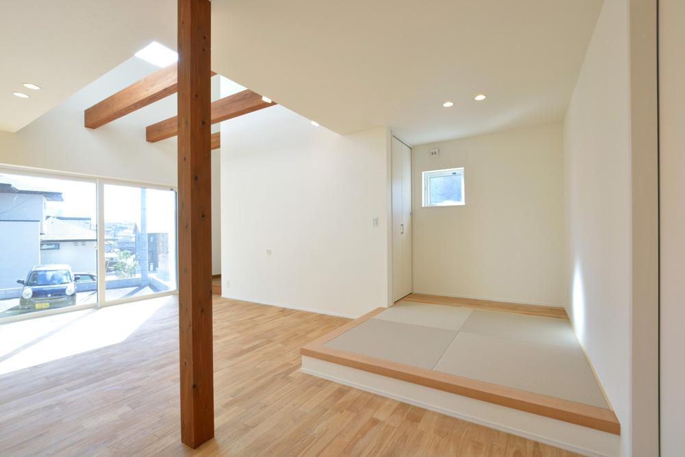 ネイビーの四角いお家、注文住宅Simple Box(シンプルボックス)07