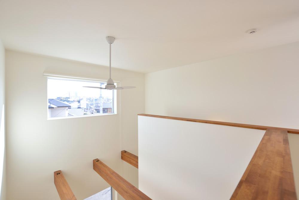 ネイビーの四角いお家、注文住宅Simple Box(シンプルボックス)09