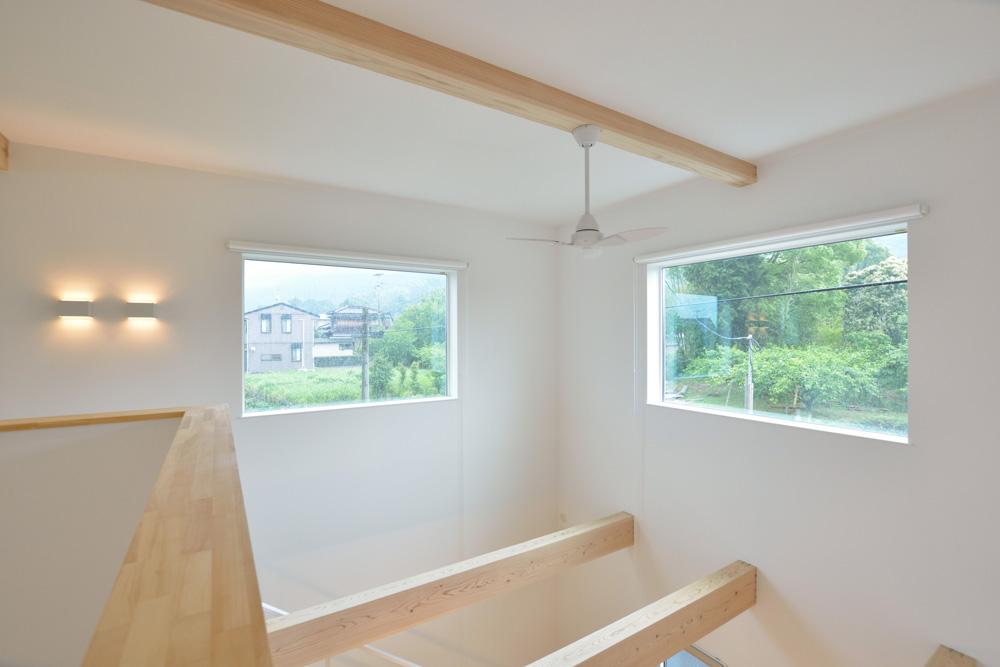 ネイビーの四角いお家、注文住宅Simple Box(シンプルボックス)08