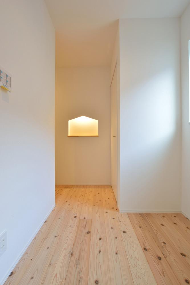 白いシンプルな四角いお家、注文住宅Simple Box+Box(シンプルボックス+ボックス)12