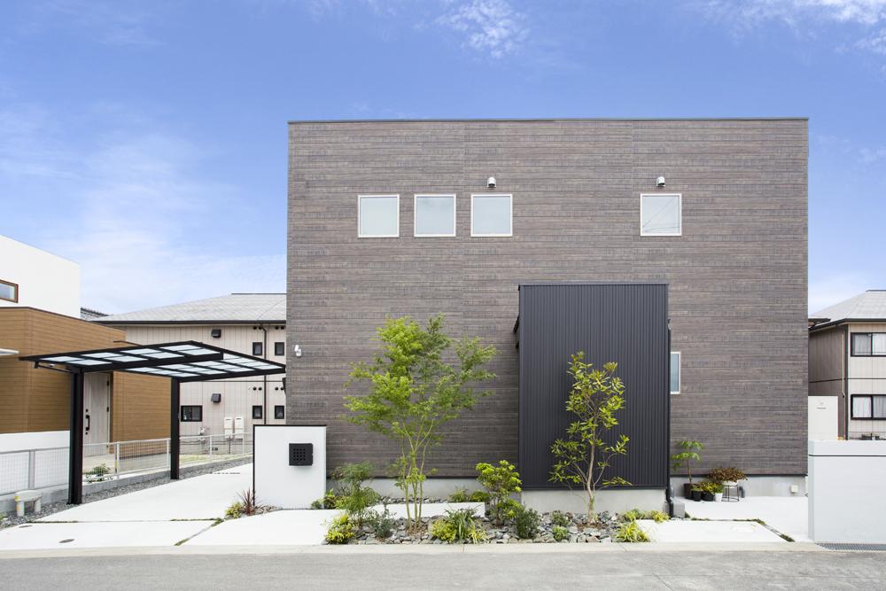 シンプルな箱型のお家、注文住宅Simple Box(シンプルボックス)01