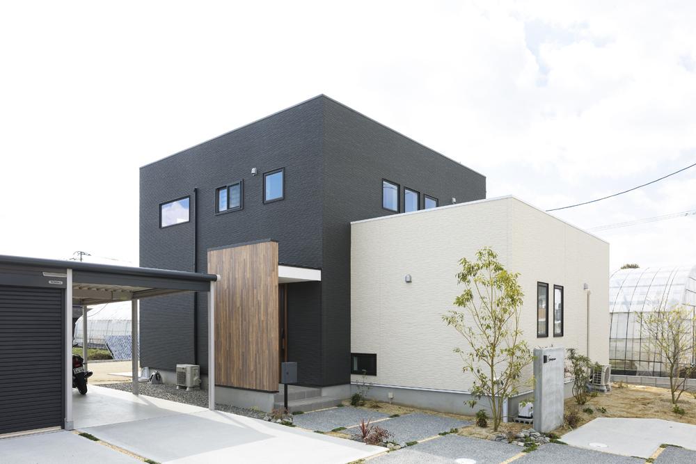 こだわりを沢山詰め込んだ箱型のお家、注文住宅Simple Box(シンプルボックス)01