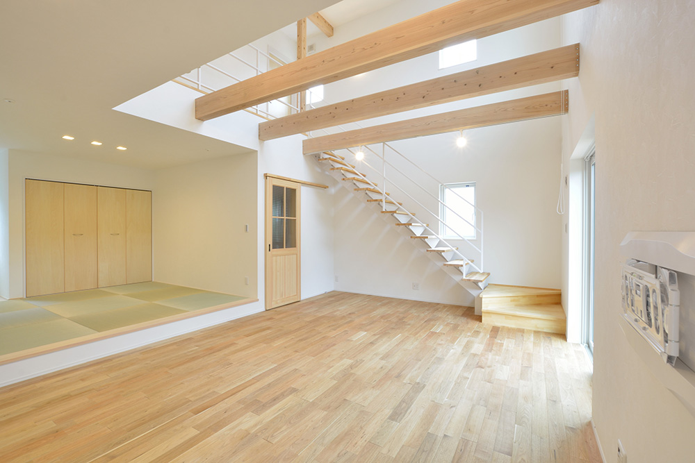 シンプルな四角いお家、注文住宅Simple Box(シンプルボックス)06