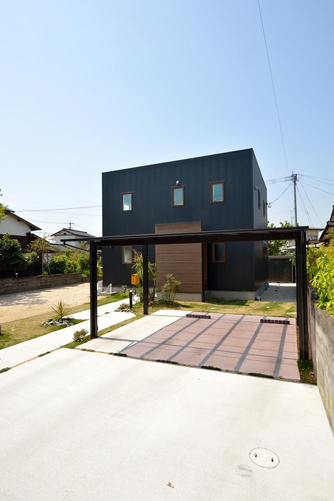 シンプルな四角いお家、注文住宅Simple Box(シンプルボックス)02