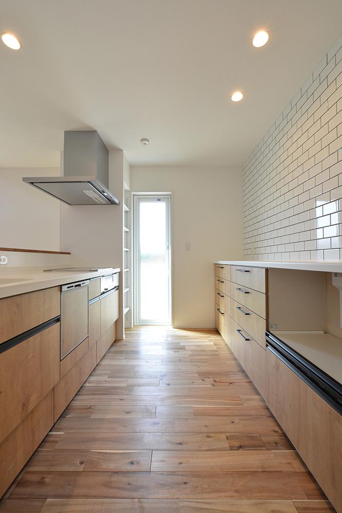 シンプルな四角いお家、注文住宅Simple Box+Box(シンプルボックス+ボックス05