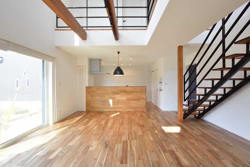 シンプルな四角いお家、注文住宅Simple Box+Box(シンプルボックス+ボックス03