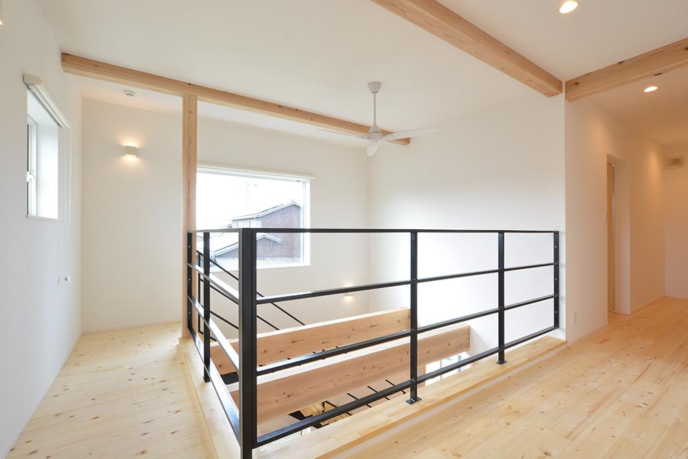 黒いシンプルな四角いお家、注文住宅Simple Box+Box(シンプルボックス+ボックス)12