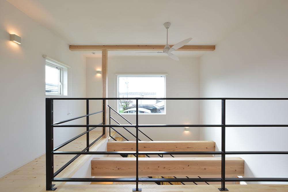 黒いシンプルな四角いお家、注文住宅Simple Box+Box(シンプルボックス+ボックス)11