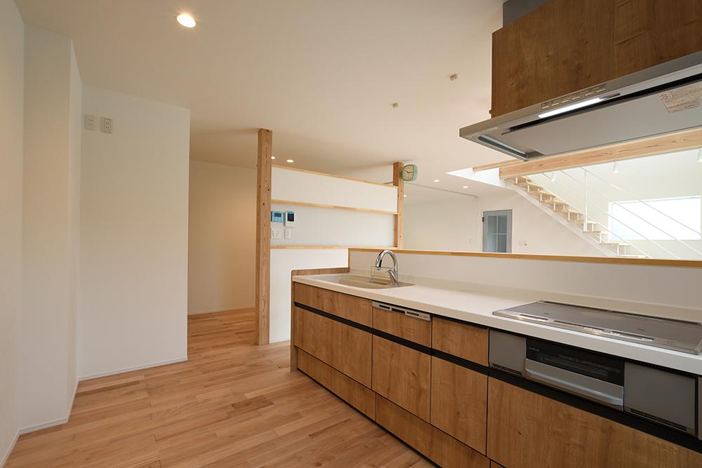 ネイビーのシンプルな四角いお家、注文住宅Simple Box+Box(シンプルボックス+ボックス)08