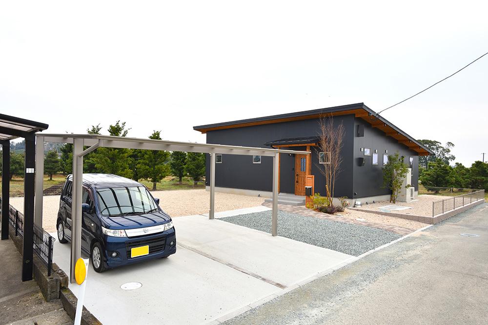 黒い平屋、注文住宅COVACO(コバコ)02