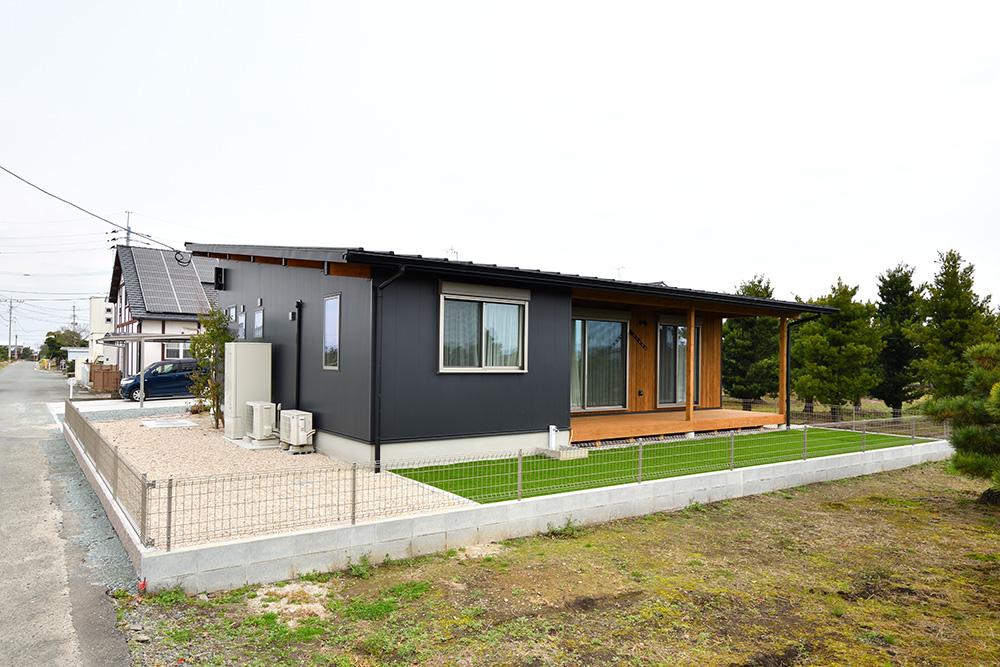 黒い平屋、注文住宅COVACO(コバコ)03