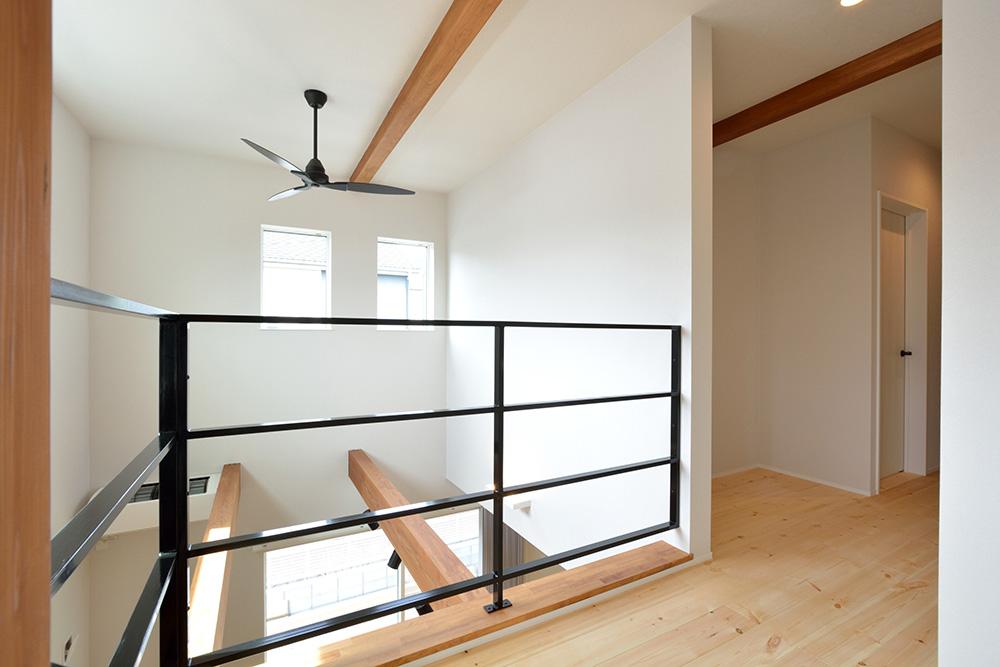 黒いシンプルな四角いお家、注文住宅Simple Box+Box(シンプルボックス+ボックス)14