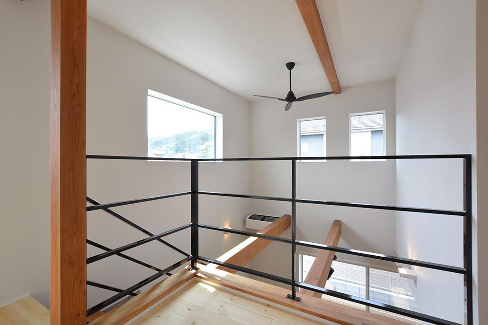 黒いシンプルな四角いお家、注文住宅Simple Box+Box(シンプルボックス+ボックス)13