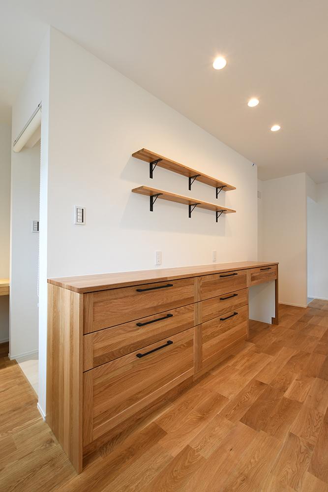 ガルバリウム+塗り壁の四角いお家、注文住宅Simple Box08
