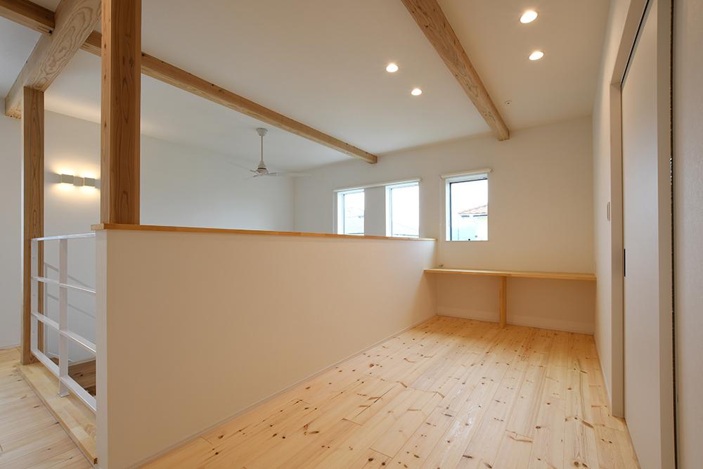ガルバリウム+塗り壁の四角いお家、注文住宅Simple Box14