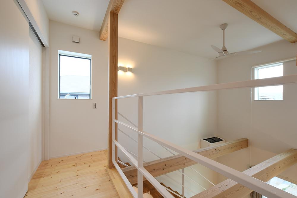 ガルバリウム+塗り壁の四角いお家、注文住宅Simple Box12