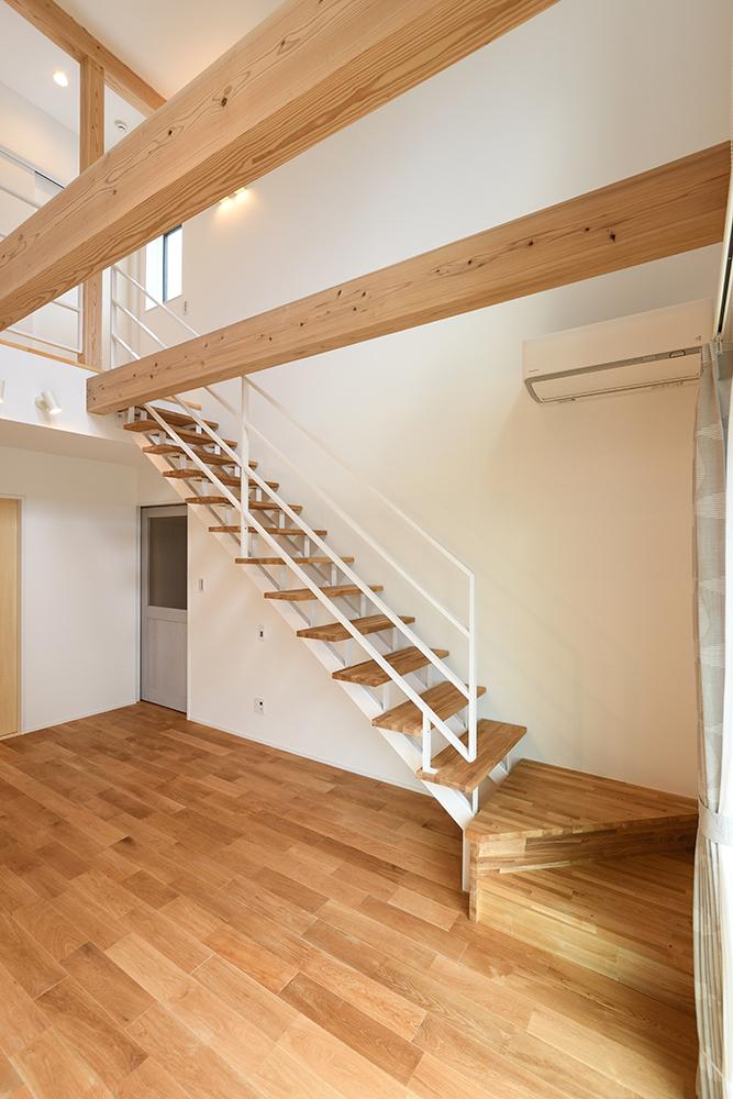 ガルバリウム+塗り壁の四角いお家、注文住宅Simple Box10