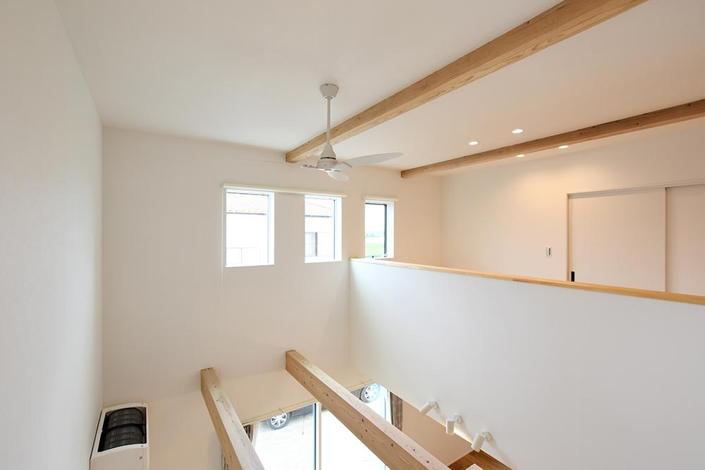ガルバリウム+塗り壁の四角いお家、注文住宅Simple Box13
