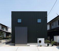 福岡県久留米市の注文住宅会社ホームラボSimpleBoxの外観施工事例画像