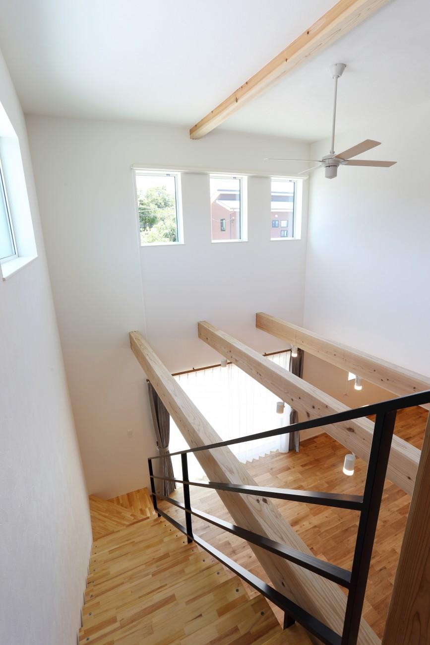 黒とオークのツートンがかっこいいお家、注文住宅Simple Box +Box(シンプルボックル+ボックス) 15