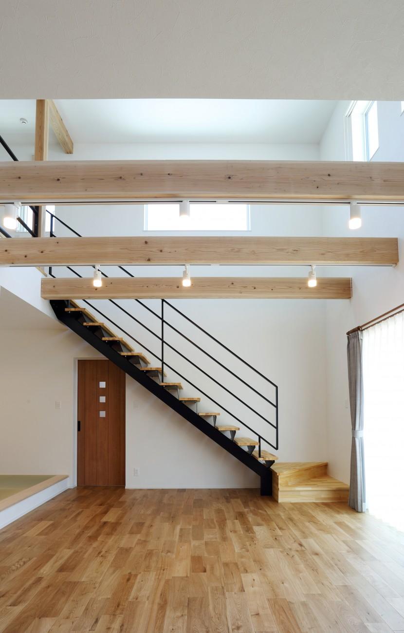黒とオークのツートンがかっこいいお家、注文住宅Simple Box +Box(シンプルボックル+ボックス) 09