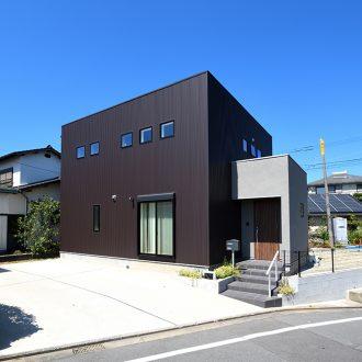 注文住宅SimpleBoxの外観施工事例画像サムネール