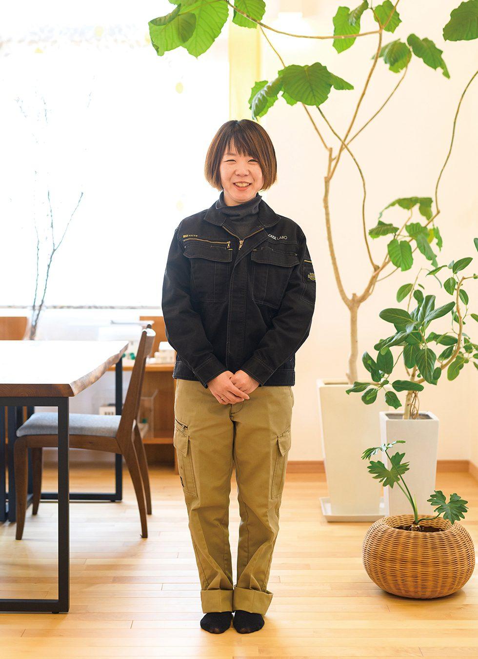 スタッフインタビュー「米澤 枝里」