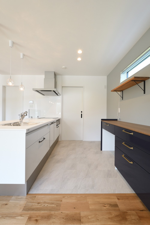 快適動線。回遊性のある四角いお家、注文住宅Simple Box05
