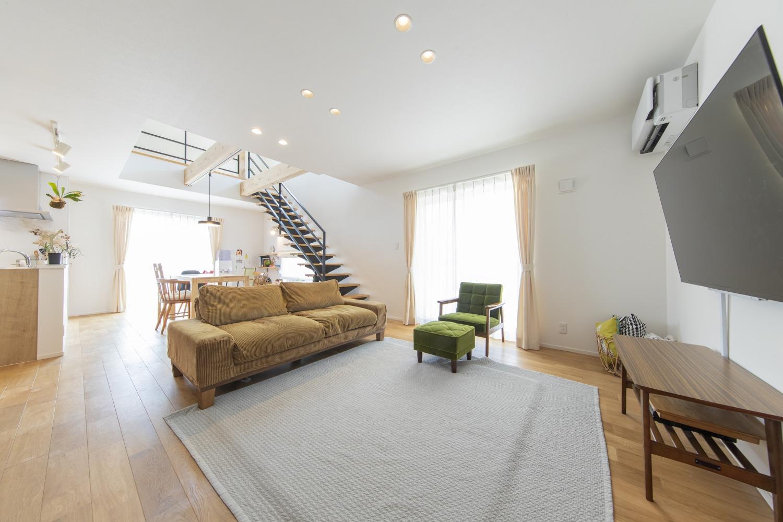 福岡久留米注文住宅ホームラボリビング施工事例画像