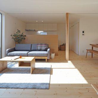 福岡久留米注文住宅ホームラボのNESTリビングの施工事例画像