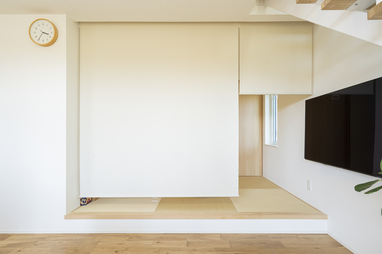 家族の気配を感じられる家 注文住宅Simple Box16