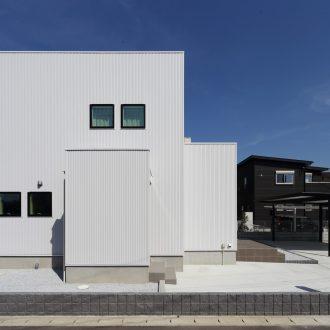 福岡久留米注文住宅ホームラボ外観の施工事例画像