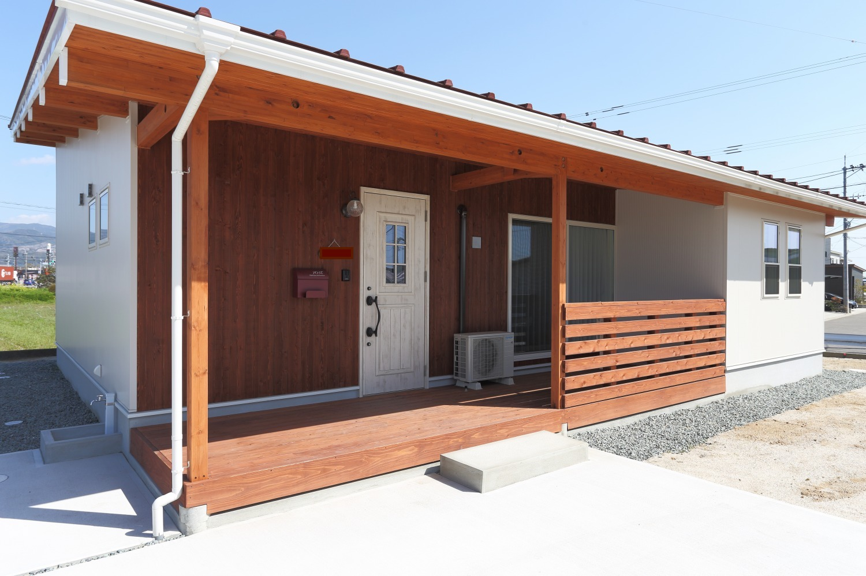 家の中心にオープンなLDK。平屋のお家COVACO(モニカ)02