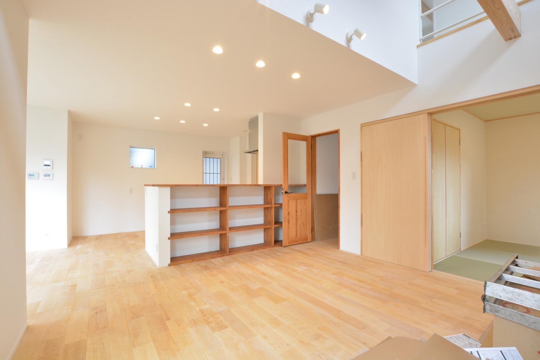 西海岸スタイルの四角いお家、注文住宅Simple Box02