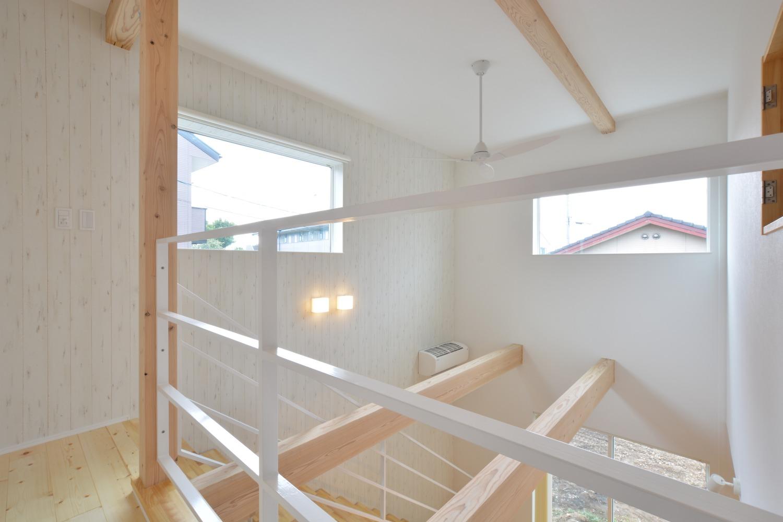 西海岸スタイルの四角いお家、注文住宅Simple Box07
