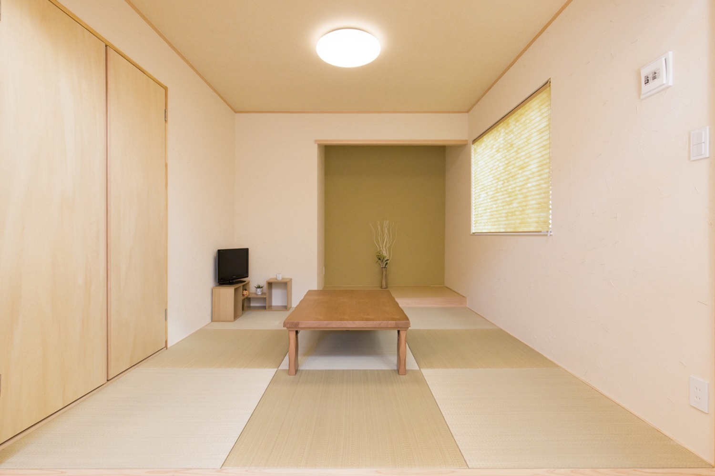 西海岸スタイルの四角いお家、注文住宅Simple Box05