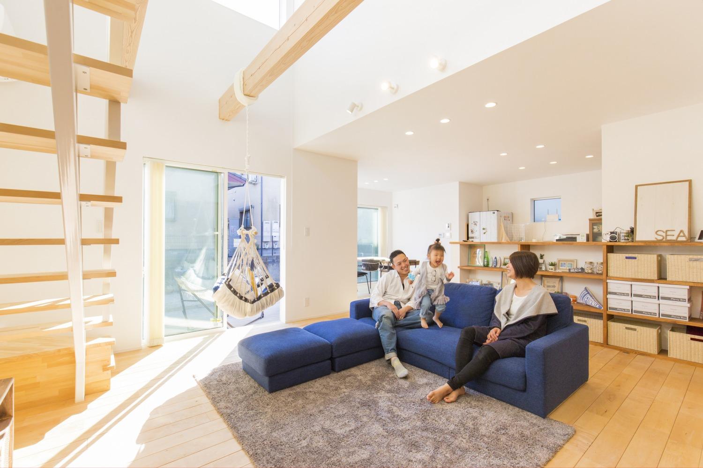 西海岸スタイルの四角いお家、注文住宅Simple Box12